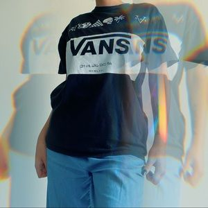 1966 vans of the wall graphic tshirt